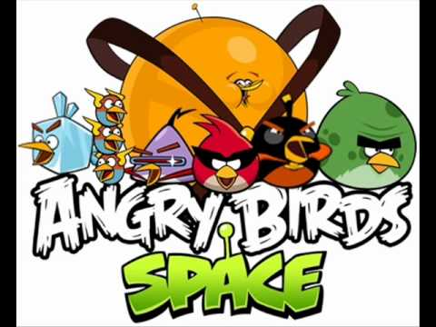 Orange bird is coming in angry birds space youtube - Angry birds space gratuit ...