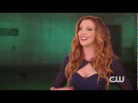 Arrow: Katie Cassidy Interview