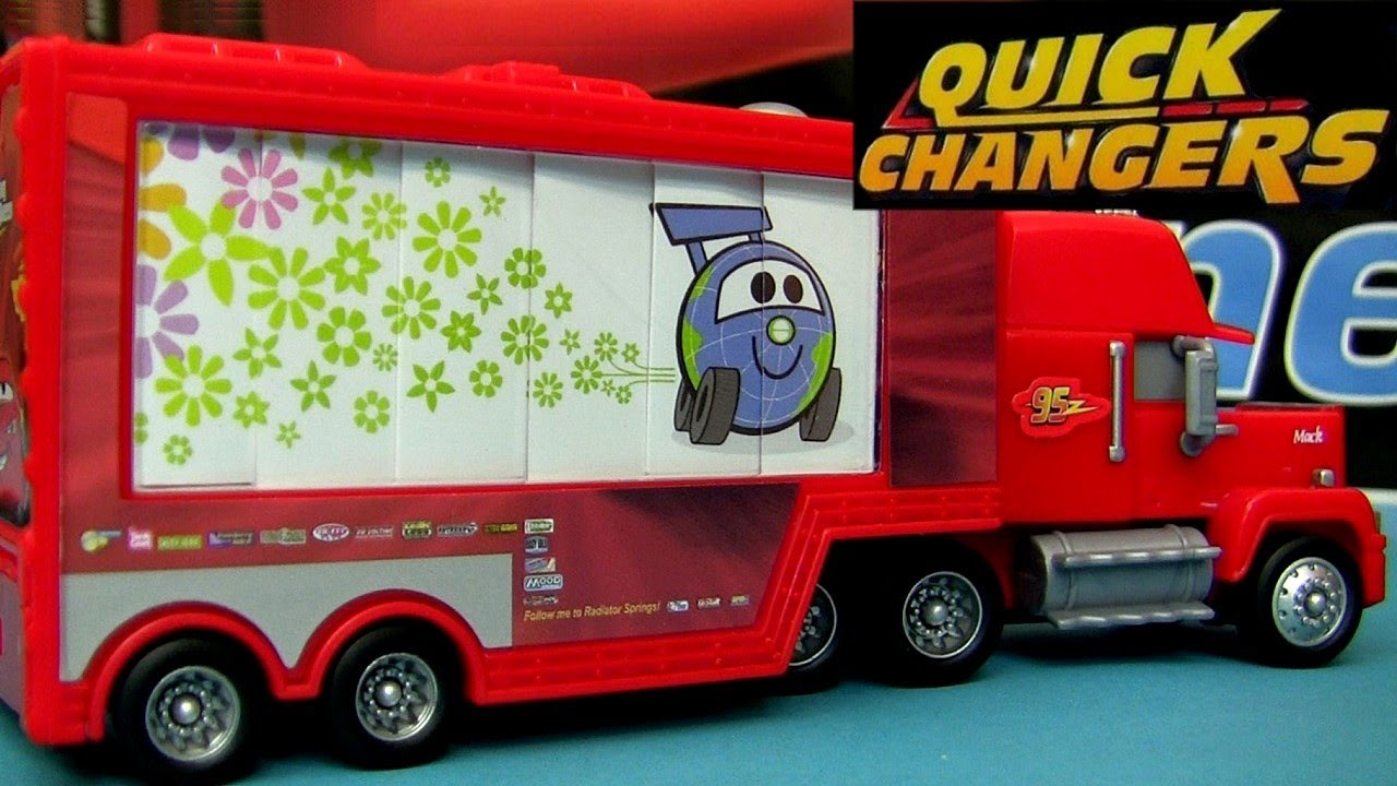 Deluxe mack transporter quick changers cars 2 disney for Foto cars da stampare