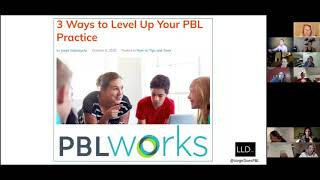 Education Coach Jorge Valenzuela discusses PBL, HQPBL and PBLWorks via PBLMatters