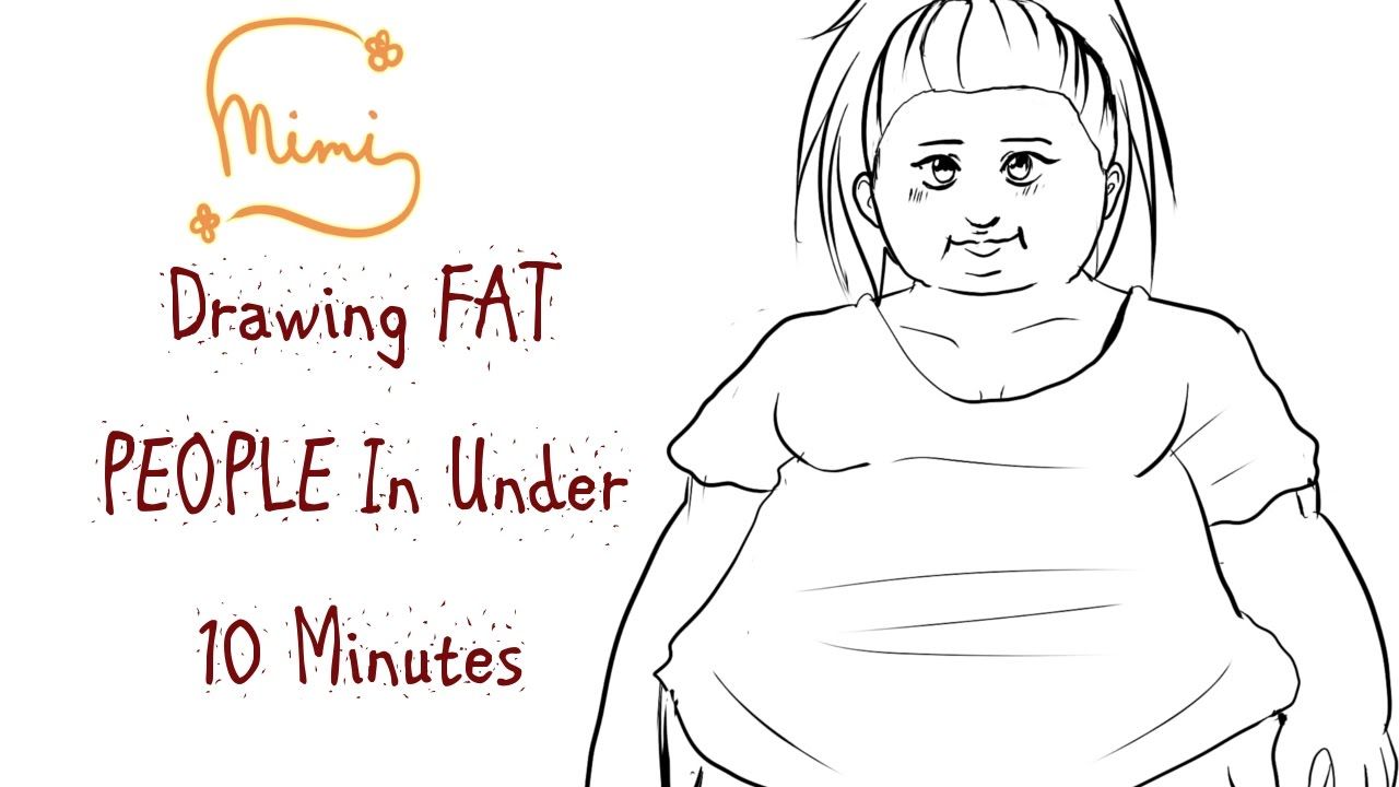Uncategorized People Drawing tutorial drawing fat people in under 10 minutes youtube youtube