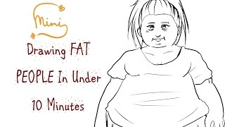[TUTORIAL] Drawing FAT PEOPLE In Under 10 MINUTES