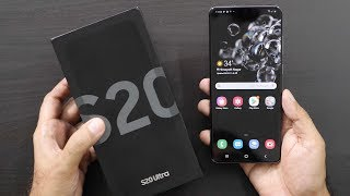 Samsung Galaxy S20 Ultra Unboxing & Overview (Indian Unit)