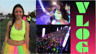 Electric Run Vlog! Getting Ready + Event! Thumbnail