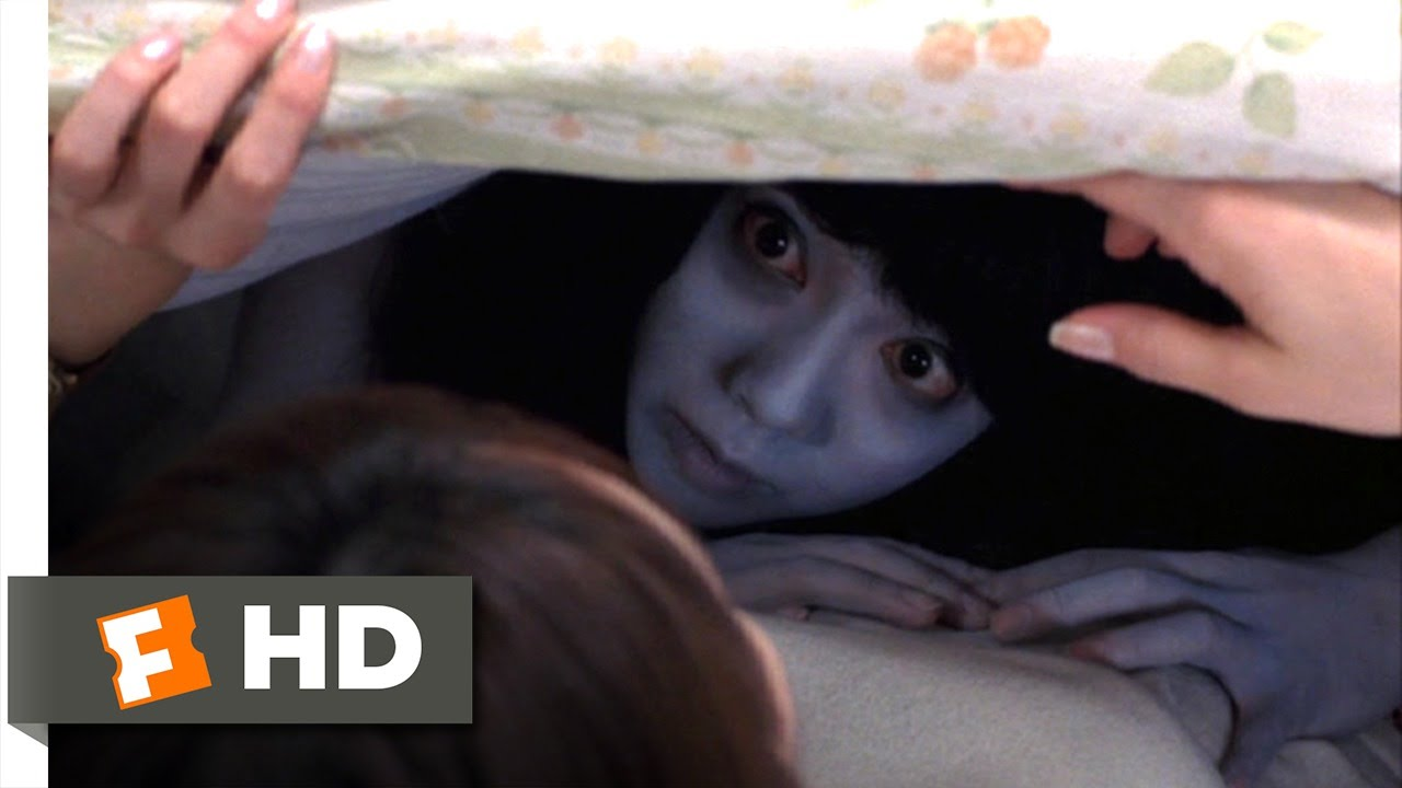 Download Ju-on (4/10) Movie CLIP - Under the Covers (2002) HD