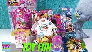 Num Noms Disney Tsum Tsum MLP Shopkins Trolls Blind Bag Toy Opening | PSToyReviews
