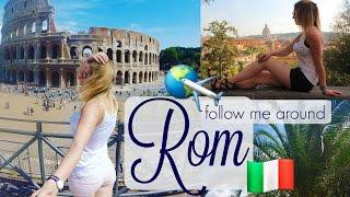 ROM 🇮🇹 follow me around + INSIDER TIPPS I Sommer Urlaub I GoPro Hero+ I Italien Iellylicious♡
