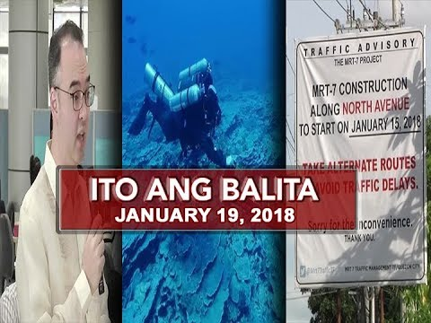 UNTV: Ito Ang Balita (January 19, 2018)