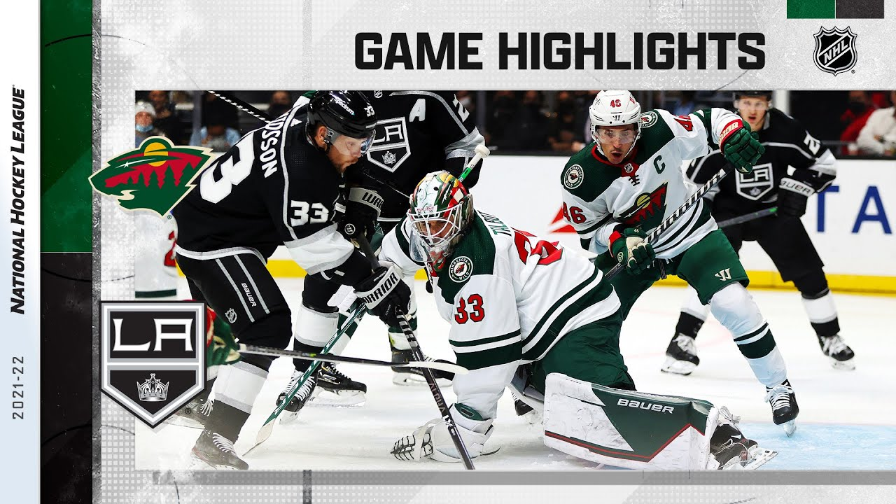 Download Wild @ Kings 10/16/21 | NHL Highlights