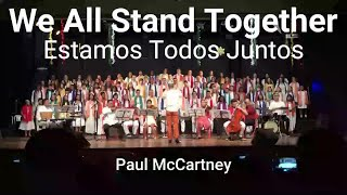 WE ALL STAND TOGETHER  with lyrics