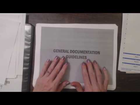 ASMR Soft Spoken ~ Preparing Presentation Binder ~ Paper/Plastic Sliding Sounds