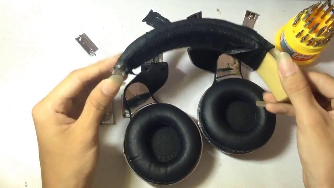 Headphone Bluedio what's inside? how to fix headphone