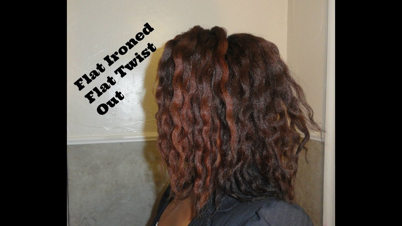171 Flat Twist Out Results On Flat Ironed Natural Hair