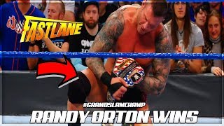 RANDY ORTON WINS THE UNITED STATES CHAMPIONSHIP (WWE FASTLANE 2018 RESULTS)