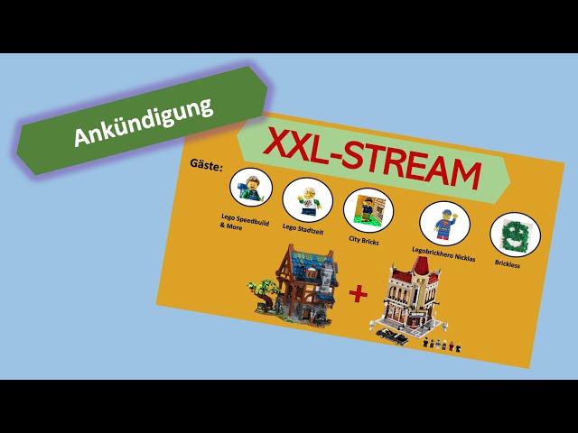 The Lego Brick Master Livestream Ankündigung (19.2.21)