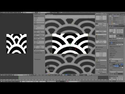 how to make textures in blender