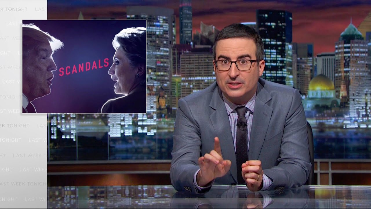 Scandals: Last Week Tonight with John Oliver (HBO) #1