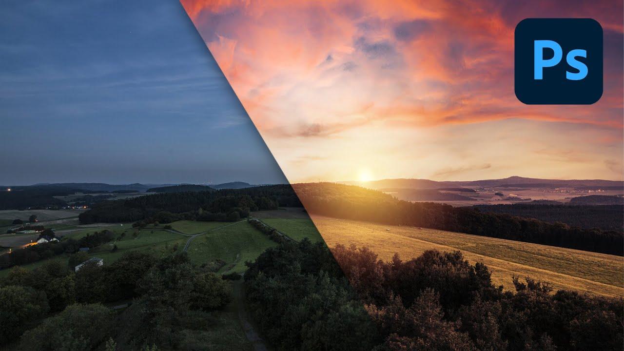 Come creare un Sole REALISTICO nelle tue Foto in Photoshop