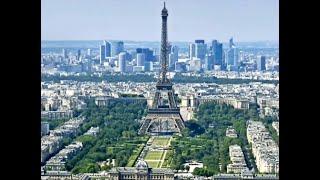 The Eiffel Tower - Tour Eiffel. Paris, France.