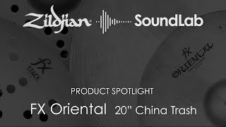 "20"" FX Oriental China Trash - A0620"