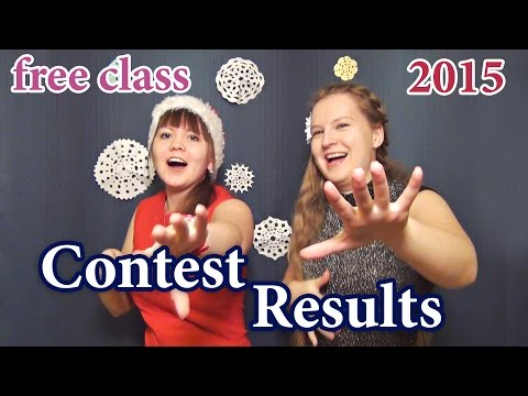 Free class Contest 2015 results - English and Russian + Antonia Romaker