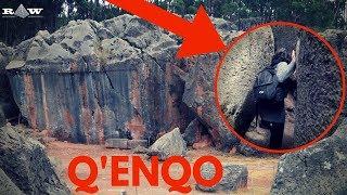 Temple Sacré Inca, carrière, ou les deux ? Bienvenu à Q'enqo, au Pérou !
