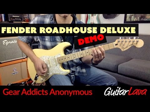 DEMO  Fender Roadhouse Deluxe Stratocaster MIM   Gear Addicts Anonymous   Craig Kelley