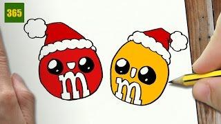 Dessin Kawaii Facile A Faire Noel