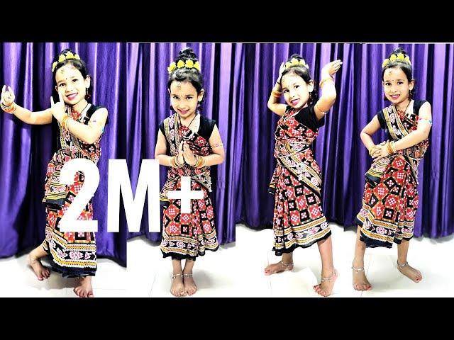 Haego Jasoda rani sambalpuri dance | Sambalpuri dance by Pari| Hai Go Jashoda Rani | #LearmWithPari