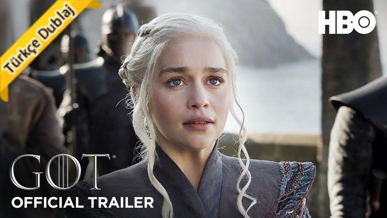 Game Of Thrones 7 Sezon 7 Bölüm Fragmanı Türkçe Dublaj Sezon