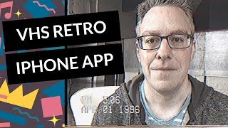 Review: VHS Camcorder iPhone App Makes Videos Look 1980s & 1990s