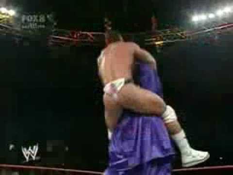 luchador wrestler Showing G string