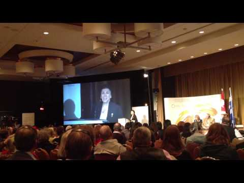 Alanis Obomsawin singing at TRC National Event 2013