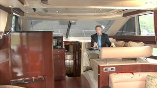 Meridian Yachts 441 Sedan Bridge 2009 Interior Accommodation Reviews- By BoatTest.com