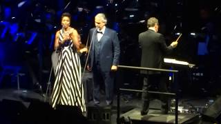 Andrea Bocelli - The Prayer - Cleveland - 12/1/17