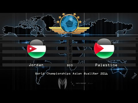 CS:GO -  Jordan vs Palestine - BO3 - The World Championships