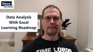Data Analysis With Excel Learning Roadmap