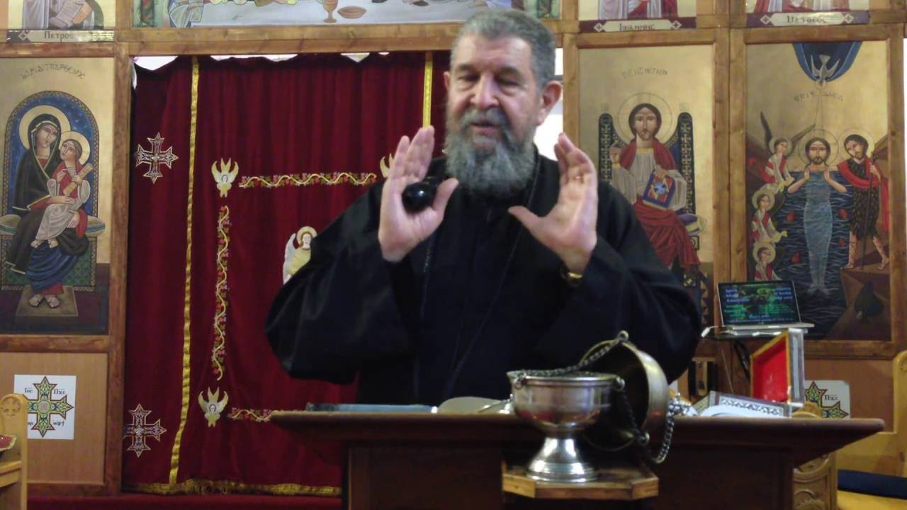 The Unity of Humanity to Divinity - Fr Youhanna