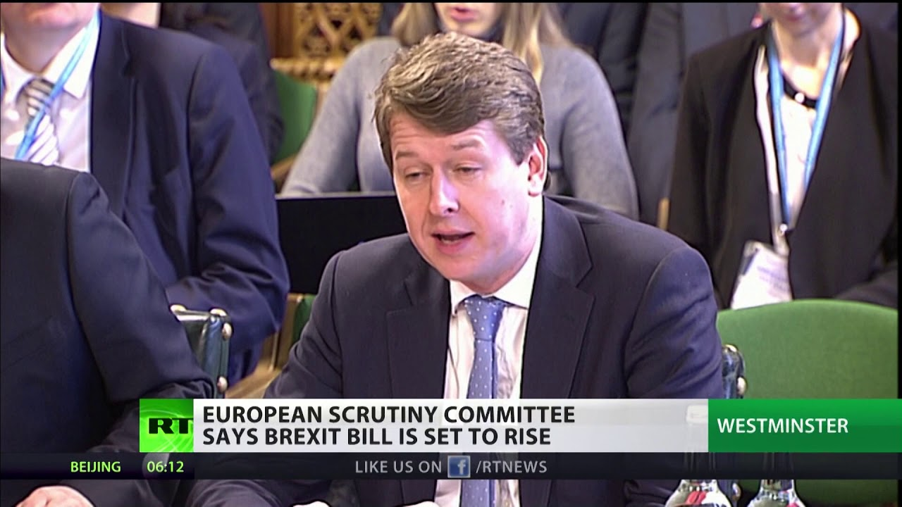 European scrutiny committee says Brexit Bill could rise to £5bn