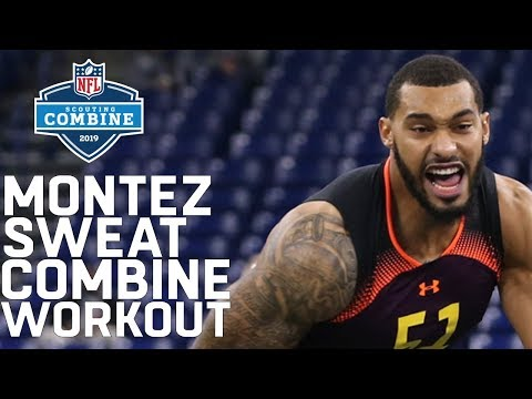 Montez Sweat Sets 40-Yard Dash Record For Defensive Linemen! | 2019 NFL Scouting Combine Highlights