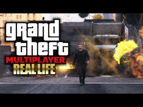 HETZJAGD: Wir nehmen Geiseln 🎮 GTA 5: REAL LIFE (Roleplay) #064