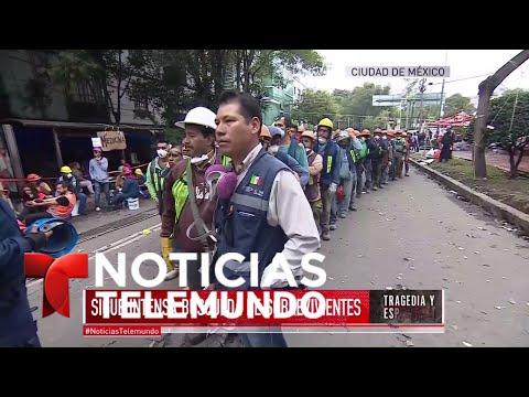 EN VIVO: Detalles sobre búsqueda y rescate de sobrevivientes en México | Noticiero | Telemundo