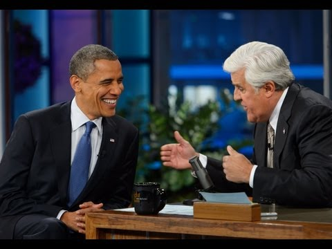 Obama to Leno: 'We Don't Have a Domestic Spying Program'