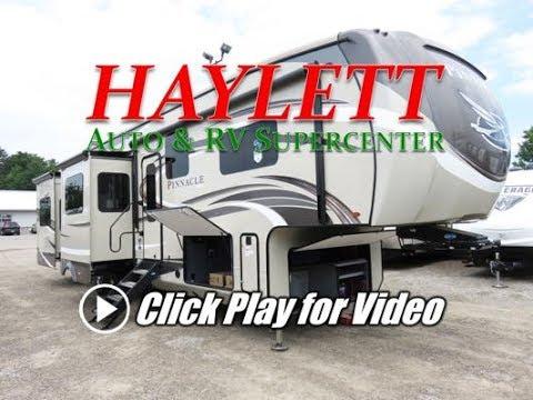 HaylettRV - 2018 Jayco 38REFS Pinnacle Wide Body Luxury Five Slide Fifth Wheel RV
