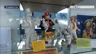 Величайшие клоуны мира в одном ряду уникальную коллекцию собрала жительница Владивостока