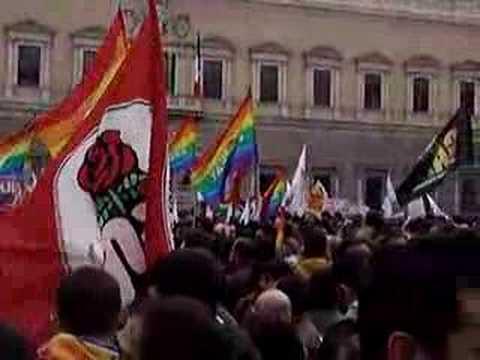 Civil Union Demonstration, Rome 10 March 2007