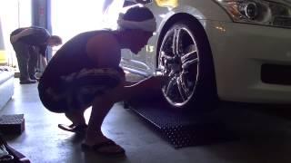 タイヤ交換 V36スカイラインのタイヤ組替えしました~
