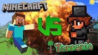 Minecraft - Великая Рэп Битва - Minecraft VS Terraria