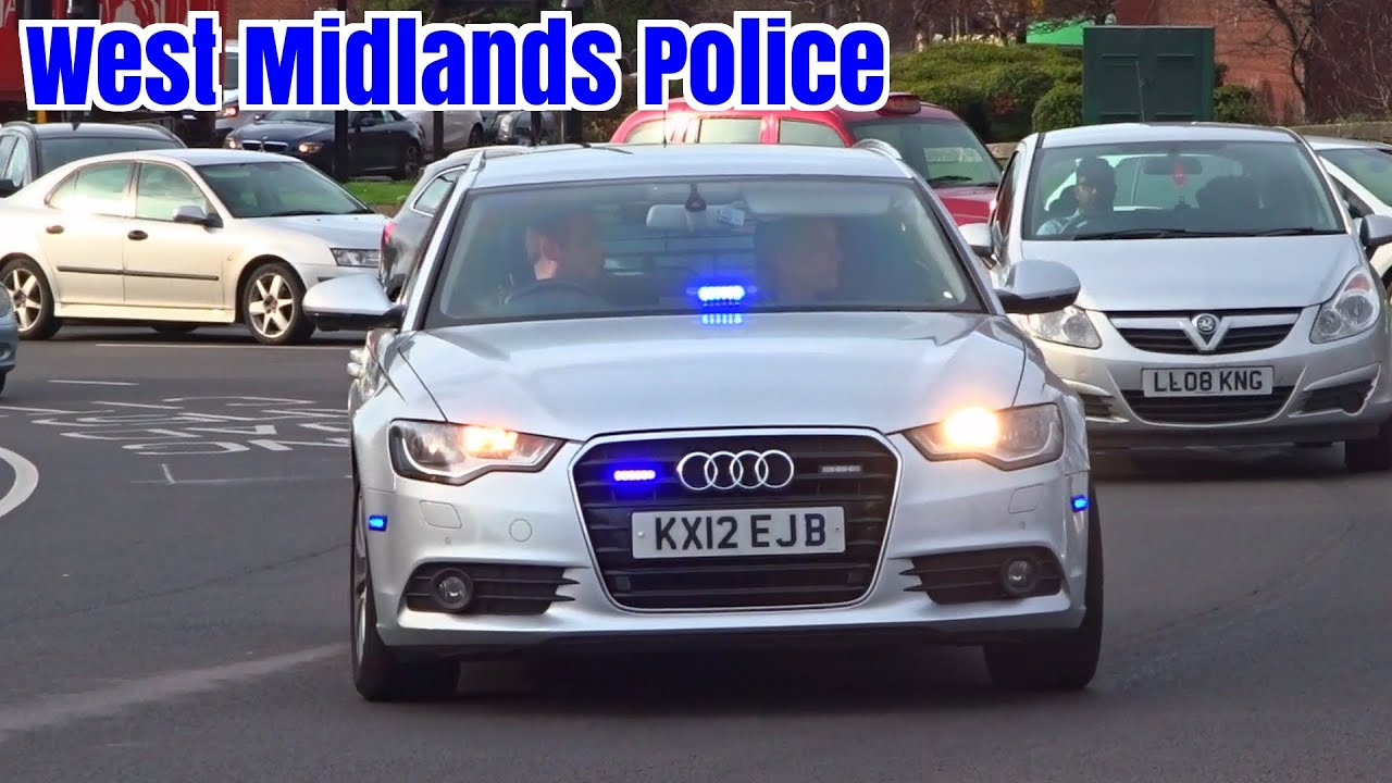 Unmarked Police Car Responding Audi A6 Armed Response Youtube