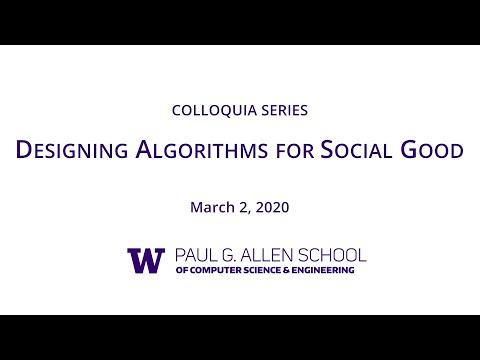 Allen School Colloquium:  Rediet Abebe (Harvard Society of Fellows)